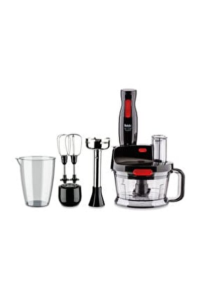 Mr Chef Quadro Blender Set Siyah 41002383