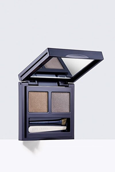 Estee Lauder Mini Cımbız ve Aplikatörlü Kaş Kiti- All in One Brow Kit Dark Brunette 3 g 887167206779