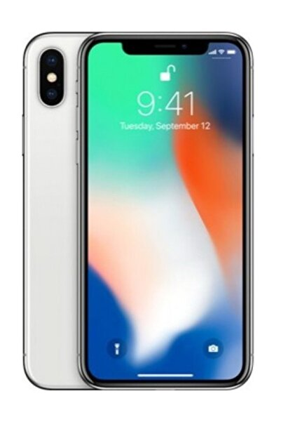 Apple iPhone X 64GB Gümüş - Apple Türkiye Garantili