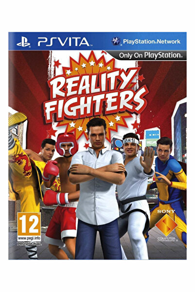 Sony Ps Vita Reality Fighters