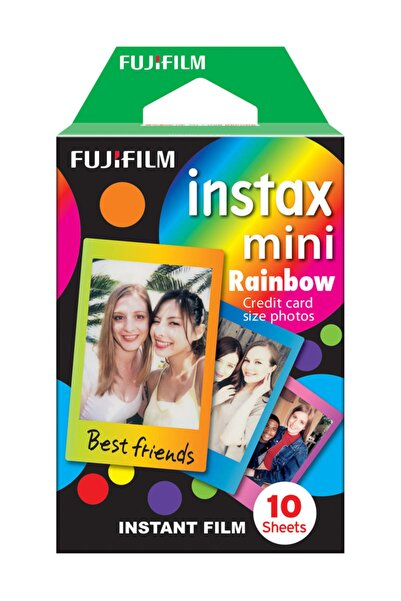 Instax Mini Rainbow 10'lu Film
