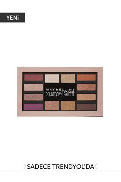 Maybelline New York Göz Farı Paleti - Countdown Palette 01 Holiday 3600531512088