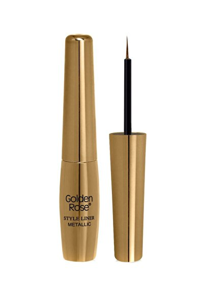 Golden Rose Metalik Sarı Eyeliner - Style Liner Metallic Eyeliner No: 02 8691190170028