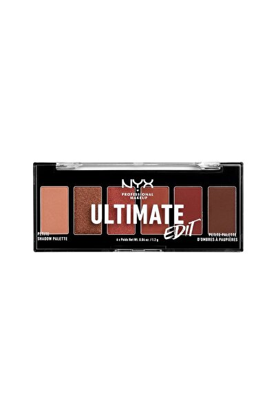 NYX Professional Makeup Göz Farı Paleti - Ultimate Edit Petite Shadow Palette Warm Neutrals 800897182571