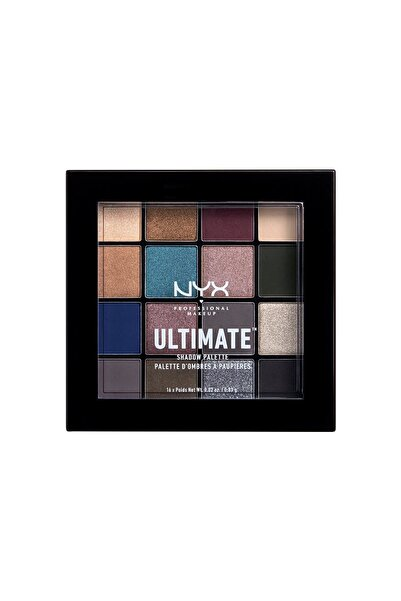 NYX Professional Makeup Göz Farı Paleti - Ultimate Shadow Palette Ash 800897182762