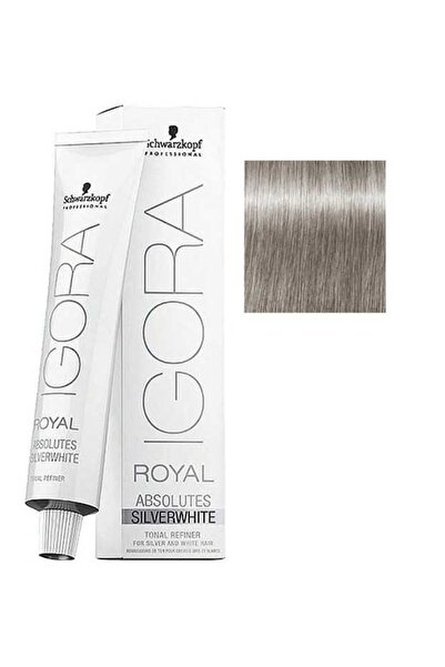 Igora Royal Absolutes Silverwhite Dove Grey Güvercin Grisi 4045787320176