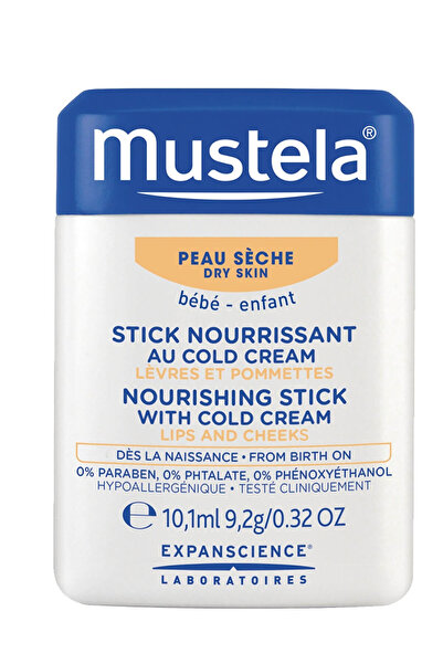 Mustela Hydra Stick With Cold Cream Nutri-Protective 10Gr