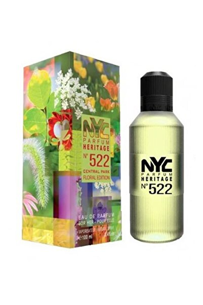 NYC Central Park Floral Edition No: 522 Edp  100 ml Kadın Parfümü 875990005225
