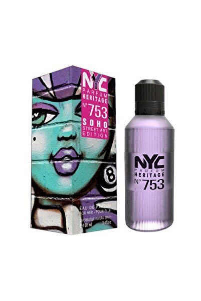 NYC Soho Street Art Edition No: 753 Edp  100 ml Kadın Parfüm 875990007533