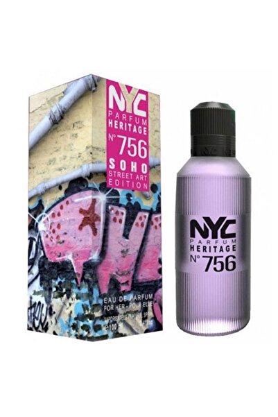NYC Soho Street Art Edition No: 756 Edp  100 ml Kadın Parfümü 875990007564