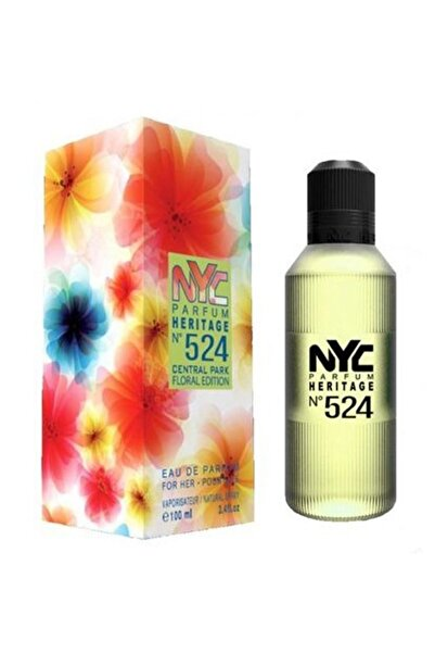 NYC Central Park Floral Edition No: 524 Edp  100 ml Kadın Parfümü 875990005249