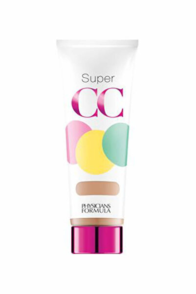 Physicians Formula CC Krem - Super CC Cream Açık-Orta Ton Spf 30 35 ml 044386062351
