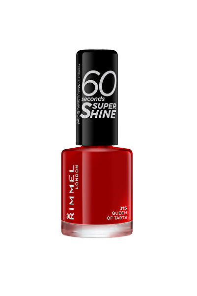 RIMMEL LONDON Oje - 60 Seconds Super Shine 315 Queen of Tarts 3614220616858