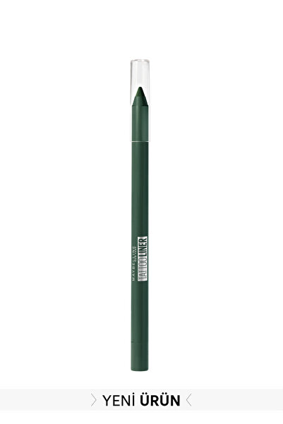 Maybelline New York Koyu Yeşil Tattoo Liner Jel Göz Kalemi 932 Intense Green 3600531531188