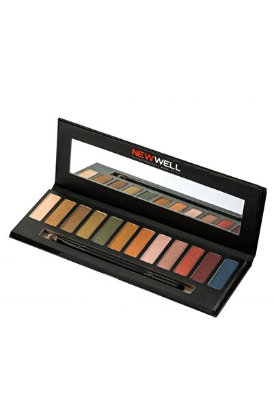 New Well Far Paleti - Eyeshadow Palette Porcelain Make-Up 8680923319490