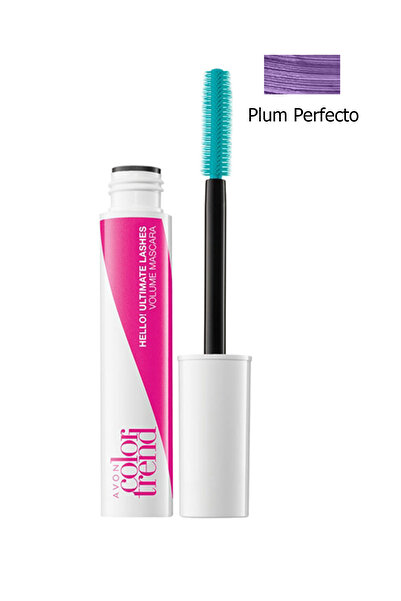 AVON Mor Maskara - Hello! Ultimate Lashes Mascara Plum Perfecto 8681298934967
