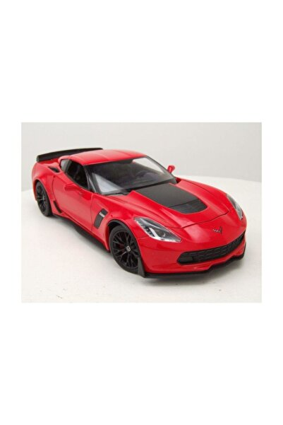 Metal Model Araba 1 24 2017 Chevy Corvette Z06 /