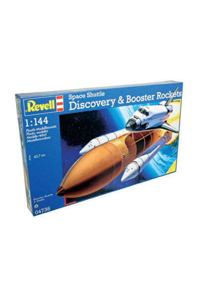 REVELL Maket Space Shuttle Discovery-Booster Rockets 4736 /