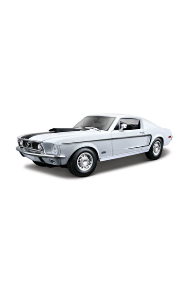 Model Araba 1:18 Ford Mustang Gt Cobra Jet Fb 1968-31167 /