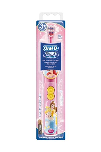 Oral-B Stages Pilli Diş Fırçası 3+ ay - Princess