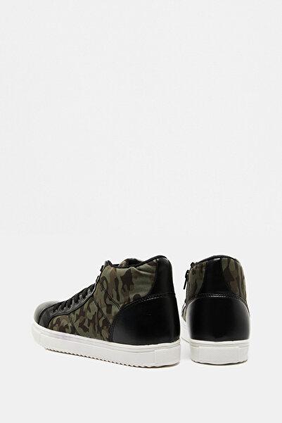 Koton Erkek  Yeşil Bağcıklı Spor Ayakkabı 9KAM20903AA