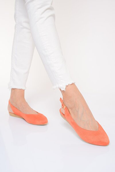 Shoes Time Orange Kadın Sandalet 20Y 900