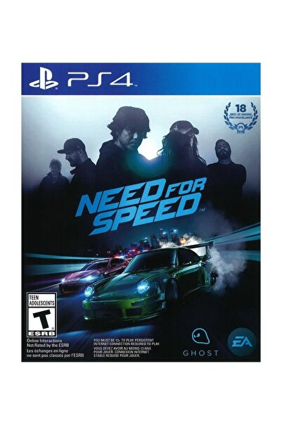 Electronic Arts Need For Speed 2015 PS4 Oyun