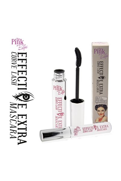 The Pink Ellys Siyah Maskara - Effective Extra Curve Lash Mascara