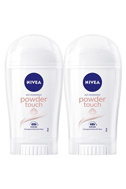 Nivea Powder Touch Kadın Deodorant Stick 40 ml  2'Li