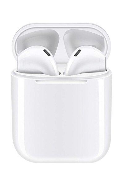 Airpods i12 TWS Beyaz iPhone Android Universal Bluetooth Kulaklık HD Ses Kalitesi