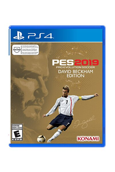 KONAMI Pes 2019 David Beckham Edition PS4 Oyun