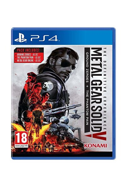KONAMI Metal Gear Solid V: The Definitive Experience PS4 Oyun