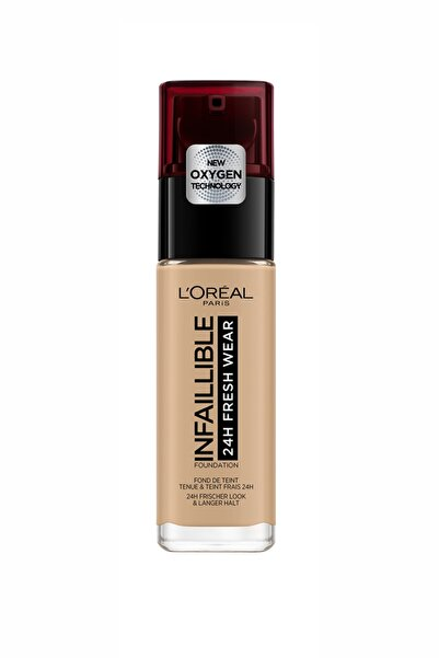 L'Oreal Paris Uzun Süre Kalıcı Fondöten - Infaillible 24H Fresh Wear 140 Golden Beige 30 ml 3600523614493