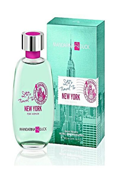 Mandarina Duck Let's Travel To New York Edt 100 ml Kadın Parfüm