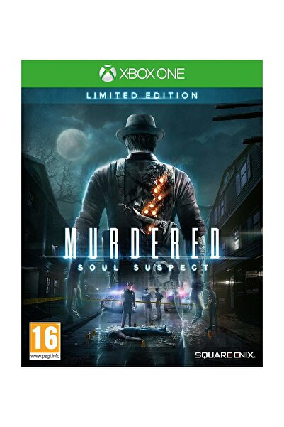 Square Enix Murdered: Soul Suspect Limited Edition Xbox One Oyun