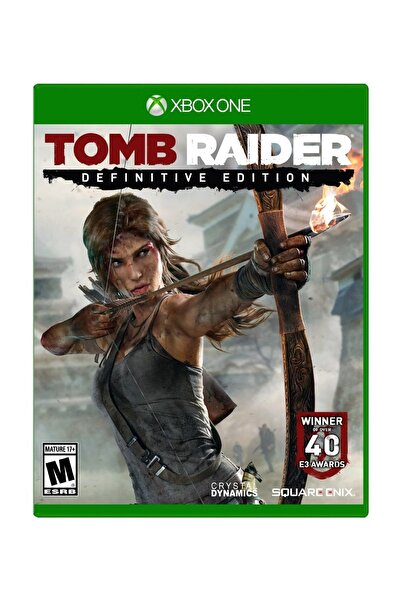 Square Enix Tomb Raider Definitive Edition Xbox One Oyun