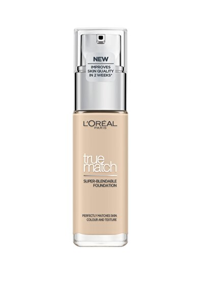 L'Oreal Paris Fondöten - True Match Foundation 0.5N Porcelain 3600523635634