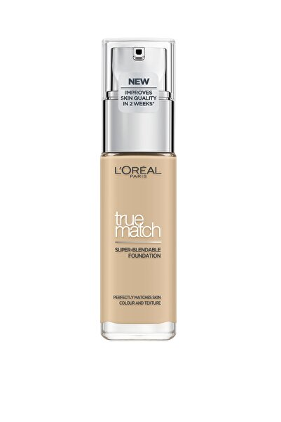 L'Oreal Paris Fondöten - True Match Foundation 1.5N Linen 3600522840114