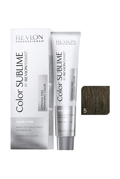 Revlon Issimo Color Sublime Color & Care 5 Açık Kahve 8432225093628 (Oksidansız)