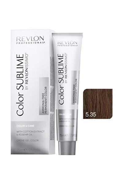 Revlon Issimo Color Sublime Color & Care 5.35 Açık Kahve Amber 8432225093710 (Oksidansız)