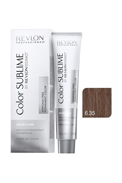 Revlon Issimo Color Sublime Color & Care 6.35 Koyu Kumral Amber 8432225094052 (Oksidansız)