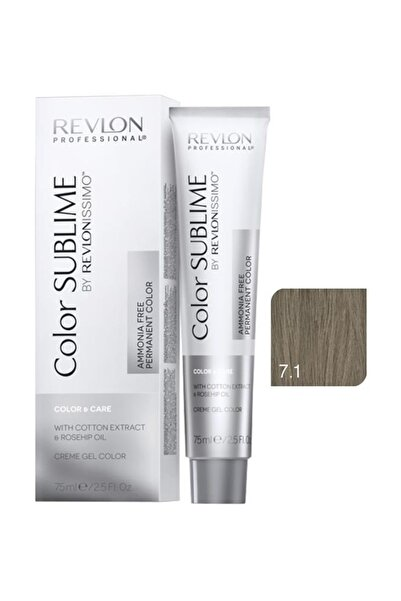 Revlon Issimo Color Sublime Color & Care 7.1 Orta Kumral Küllü 8432225093857 (Oksidansız)