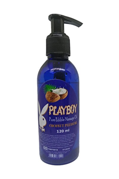 Playboy Pure Edible Massage Oil 120ml Hindistancevizi Aromalı Masaj Yağı