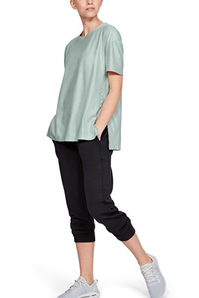 Under Armour Kadın T-Shirt - Unstoppable Cire Side Slit Tunic Ssc - 1344156-189