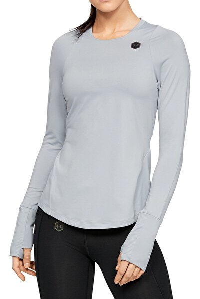 Under Armour Kadın T-Shirt - Rush Long Sleeve - 1332469-011