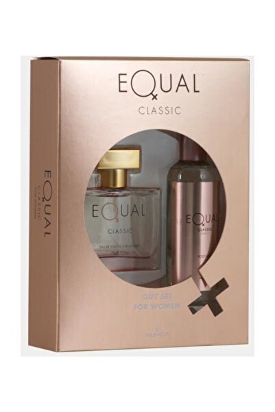 Equal 75 Ml+body Mist  Bayan Parfüm Seti