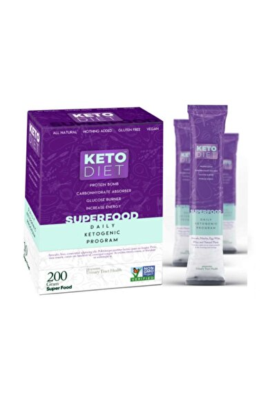 Keto Keto Dıet Super Food Daıly Ketogenıc Program 200 Gr ( 10 Şase X 8 Gr ) )