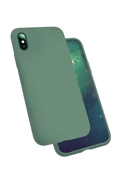 ZORE Apple Iphone X Kılıf  Silk Silikon