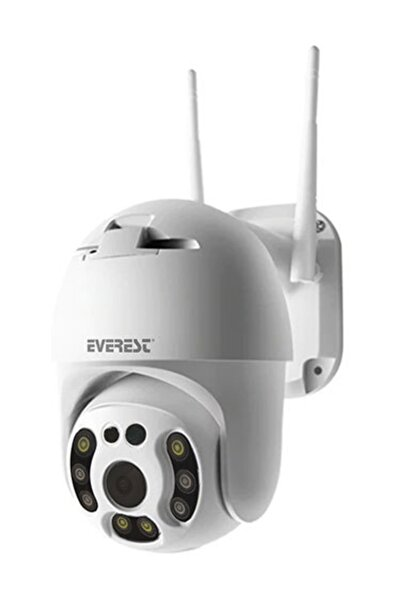 Everest Df-804w 2.0 Mp Hd Lens 3.6mm Ip Smart Wifi Network Tf Card Güvenlik Kamerası Yoosee