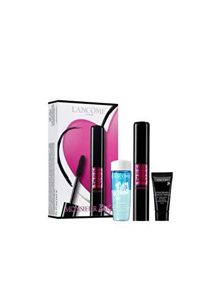 Monsieur Big Maskara + Regalo Effacernes Long Lasting 5 ml + Bi-Facil Eye Makeup Cleanse 30 ml Set